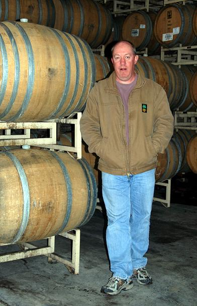 Clay Brock, Director of Winemaking at Wild Horse