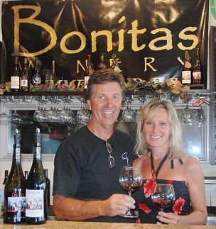Lawrence and Diane, Bonitis Winery